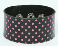 Dot black-pink big stripes & checker