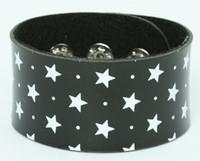 Star black-white big stripes & checker