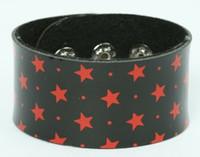 Star black-red big stripes & checker