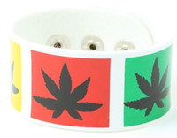 Marijuana white big stripes & checker
