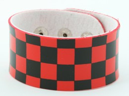 Check L black-red big stripes & checker