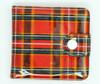 Scotch red wallet PVC wallet