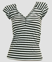 Front - Stripe M black-white fashion
