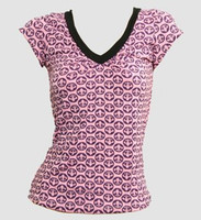 Front - Grafic L pink fashion t-shirt