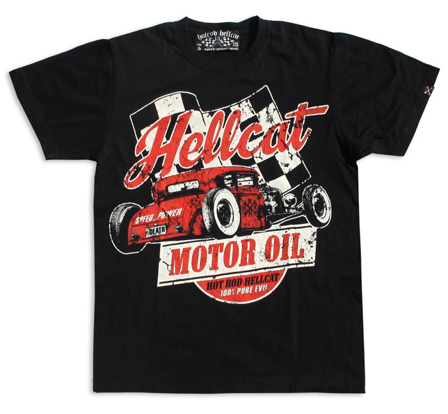 Motor oil hotrod hellcat