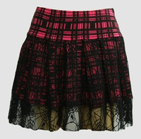 Scotch pink punk mini skirt