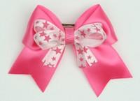 Star D pink / L pink-D pink star cute clean