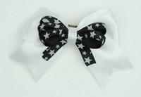 Star white / black-white star cute clean
