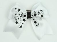Star white / white-black star cute clean