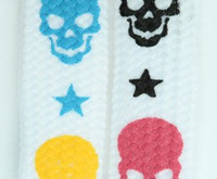 Skulls color white skull color skull
