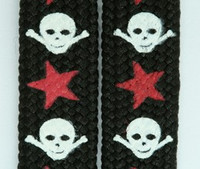 Skull S star black skull color skull