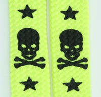 Skull V star yellow skull color skull