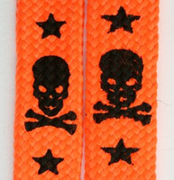 Skull V star orange skull color skull