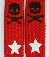 Skull star red skull color skull
