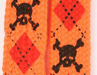 Skull scotch orange skull color skull