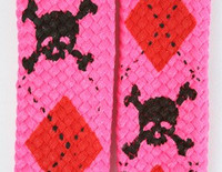 Skull scotch pink skull color skull