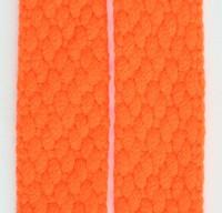 Plain orange mix shoelace