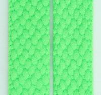 Plain green mix shoelace