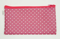 Star D pink mix cosmetic bag