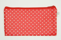Star red mix cosmetic bag