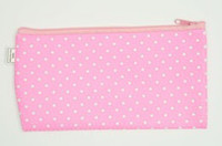 Star L pink mix cosmetic bag