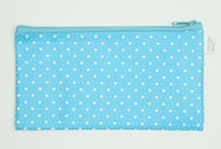 Star blue mix cosmetic bag