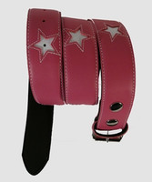 Star pink-white stars belt