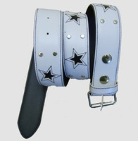 White belt star stars belt