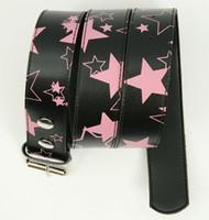Stars black-pink stars belt