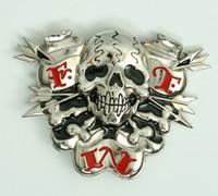 Skull FTW medium buckle
