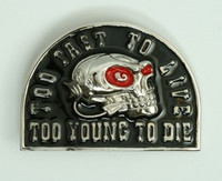 Too fast to live medium buckle