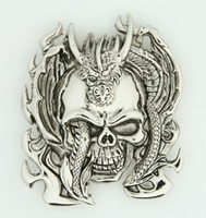Skull dragon medium buckle