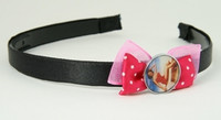 Pink / pinup dark pink bow & mix