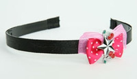 Pink / star cherry black-white dark pink bow & mix