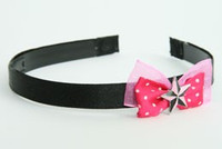 Pink / star black-pink dark pink bow & mix
