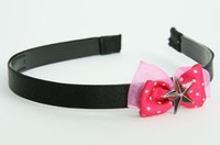 Pink / star black-red dark pink bow & mix