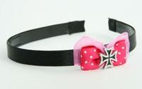 Pink / herocross black dark pink bow & mix