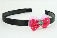 Pink / marijuana dark pink bow & mix
