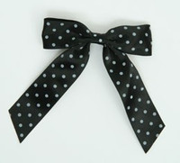 Dot full black-white dot hair clips piece