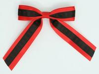 Skull red / black-red skull hair clips piece