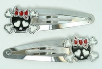 Cute skull bone Bl-red skull special