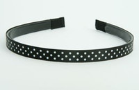 Dot black small tiara