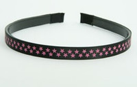 Star small black-pink small tiara
