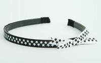 SL star small black-white / white black big tiara