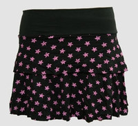 3D Star black-pink cute & dangerous mini skirt
