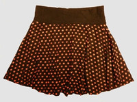 Star basic black-red cute & dangerous mini skirt