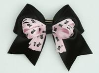 Skull black / L pink-black skull cute clean