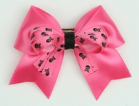 Skull D pink/ D pink-black skull cute clean