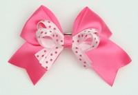 Dot D pink / L pink-D pink Dot cute clean