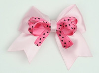 Dot L Pink / D Pink-Black Dot Cute Clean